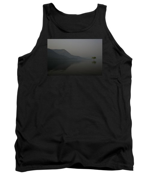 Tank Top featuring the photograph Skc 0086 Solitary Isolation by Sunil Kapadia