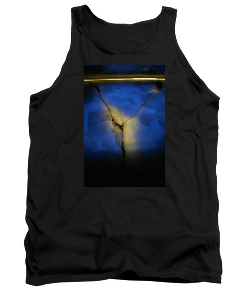 Tank Top featuring the photograph Skc 0243 Cracked Y by Sunil Kapadia