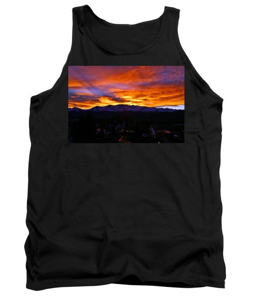 Tank Top featuring the photograph Sky Shadows by Jeremy Rhoades