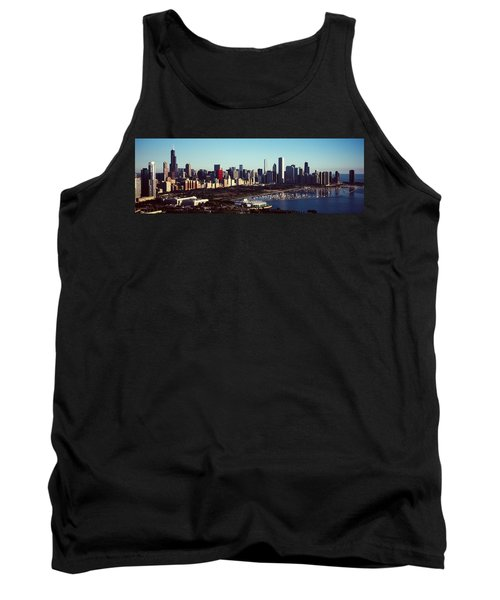 Skyscrapers At The Waterfront, Hancock Tank Top