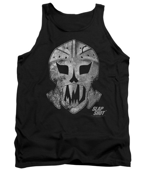 Slap Shot - Goalie Mask Tank Top