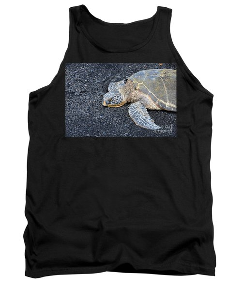 Tank Top featuring the photograph Sleepy Head by David Lawson