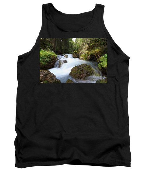 Tank Top featuring the photograph Small Stream by Antonio Scarpi