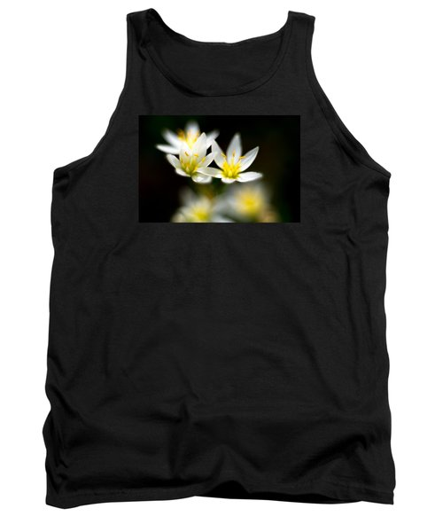 Tank Top featuring the photograph Small White Flowers by Darryl Dalton