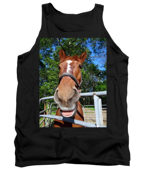 Tank Top featuring the photograph Smile by Ed Weidman