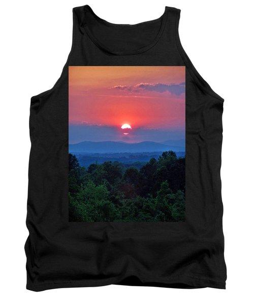 Smokey Mtn Sunset Tank Top