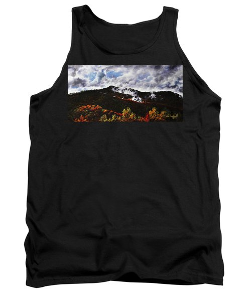 Smoky Mountain Angel Hair Tank Top