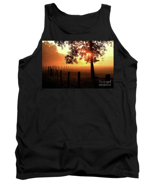 Smoky Mountain Sunrise Tank Top by Douglas Stucky