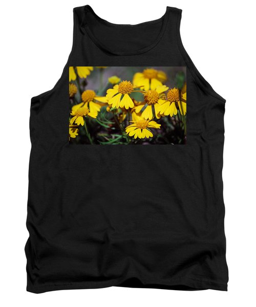 Tank Top featuring the photograph Sneezeweed by Ester  Rogers