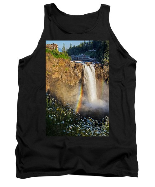 Snoqualmie Falls  Tank Top by Sonya Lang