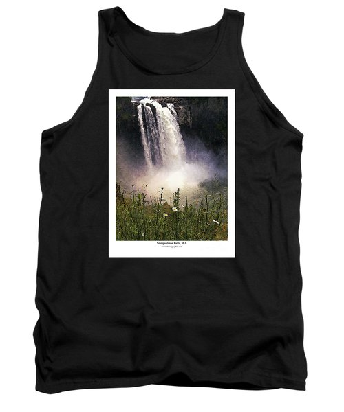 Snoqualmie Falls Wa. Tank Top by Kenneth De Tore