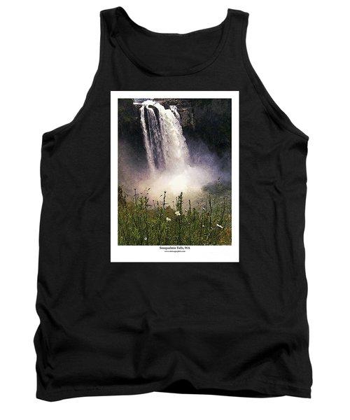 Snoqualmie Falls Wa. Tank Top