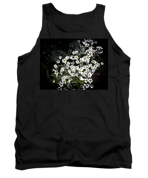 Tank Top featuring the photograph Snow In Summer by Joann Copeland-Paul