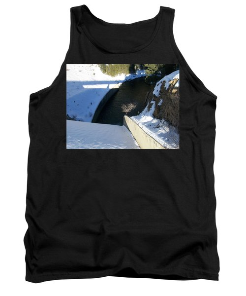 Tank Top featuring the photograph Snow Slide by Jewel Hengen