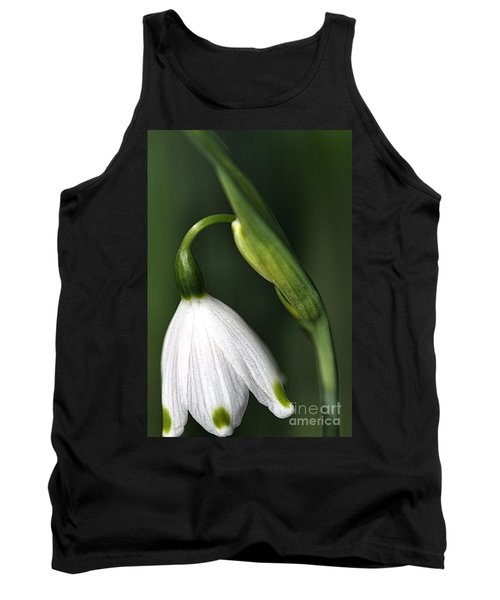 Tank Top featuring the photograph Snowdrop by Joy Watson
