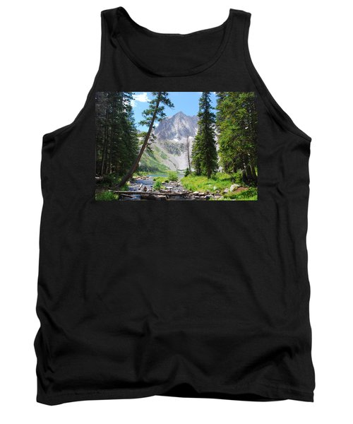 Snowmass Peak Landscape Tank Top
