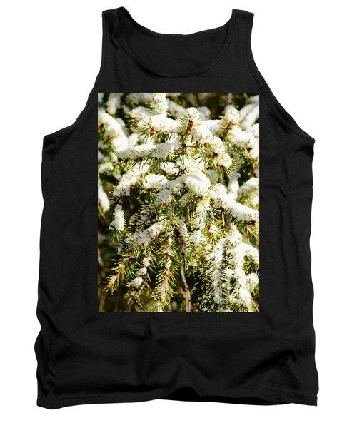 Snowy Pines Tank Top