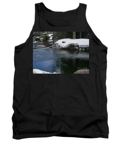 Tank Top featuring the photograph Snowy River Bend by Bobbee Rickard