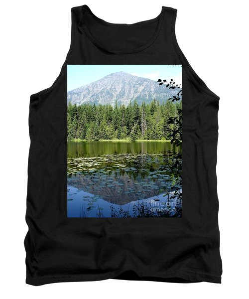 Tank Top featuring the photograph Snyder Lake Reflection by Kerri Mortenson