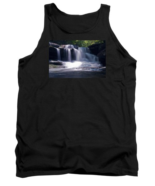 Soft Light Dunloup Falls Tank Top by Shelly Gunderson