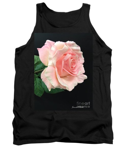Tank Top featuring the photograph Soft Pink Rose 1 by Jeannie Rhode