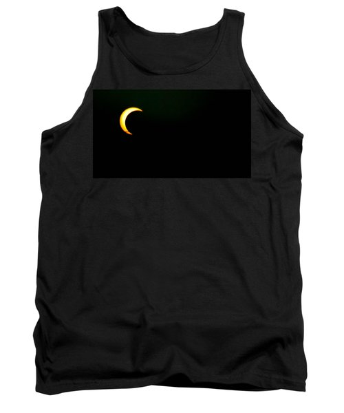 Tank Top featuring the photograph Solar Eclipse 2012 by Angela J Wright