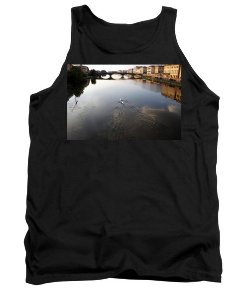 Solitary Sculler Tank Top