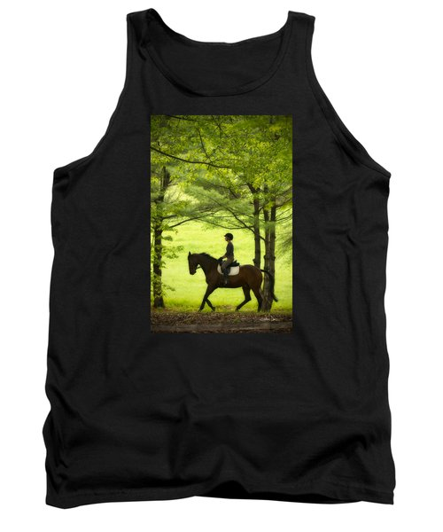 Tank Top featuring the photograph Solitude by Joan Davis