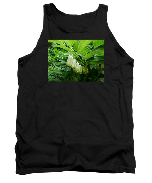 Wild Solomon's Seal Tank Top by William Tanneberger