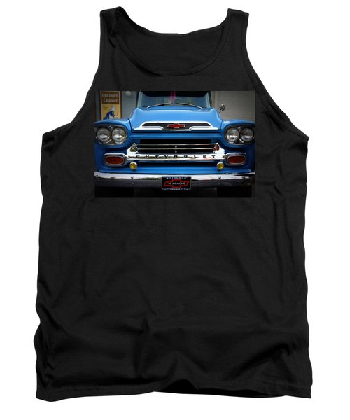 Something Bout A Truck Tank Top by Laurie Perry