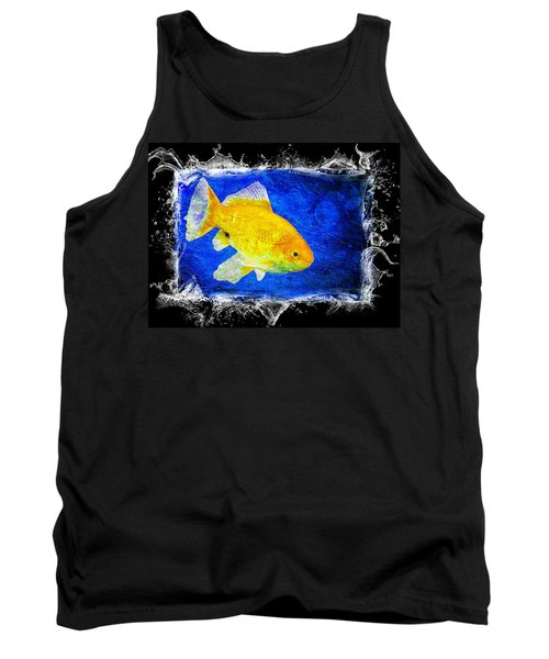 Tank Top featuring the photograph Something Fishy by Aaron Berg