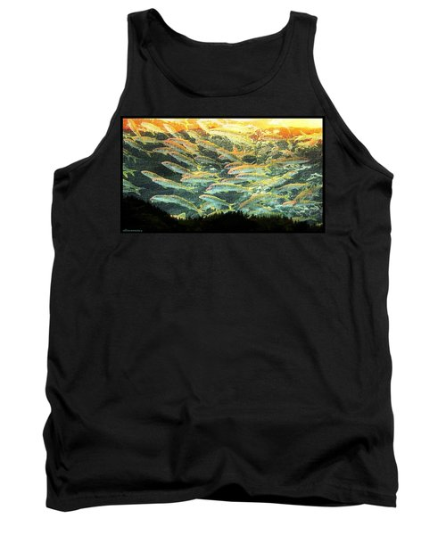Something Fishy In The Air Tank Top