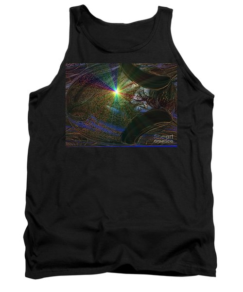 Tank Top featuring the photograph Something Wicked This Way Comes by Jacqueline Lloyd