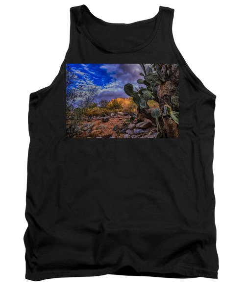Tank Top featuring the photograph Sonoran Desert 54 by Mark Myhaver