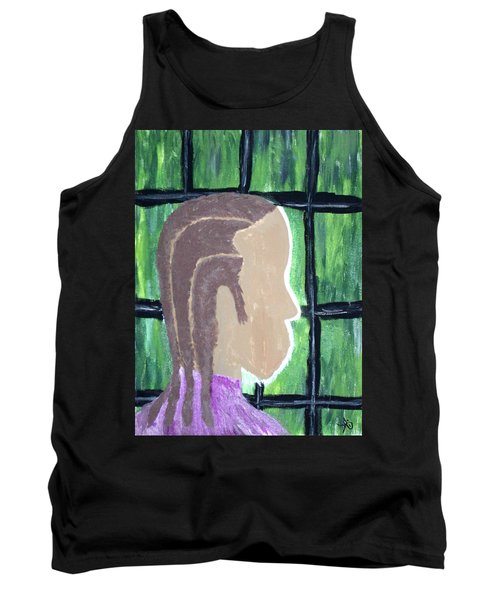 Abstract Man Art Painting  Tank Top