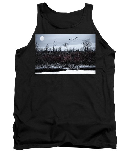South To The Moon Tank Top