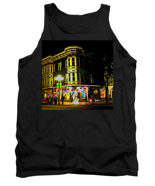 Southern California Streets At Sunset Tank Top