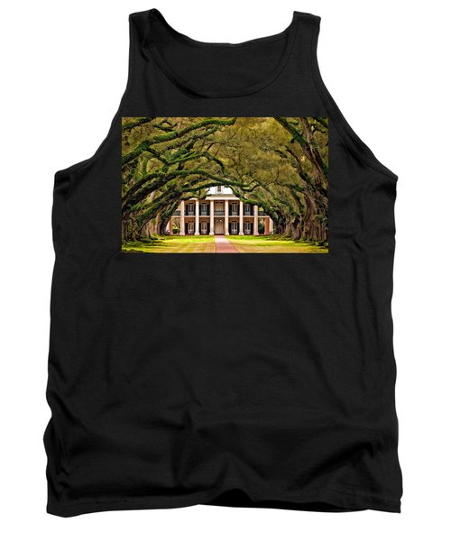 Southern Class Painted Tank Top by Steve Harrington