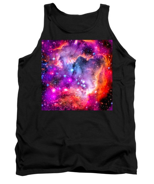 Space Image Small Magellanic Cloud Smc Galaxy Tank Top