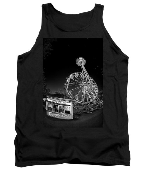 Space Needle Fights The End Of The World Tank Top