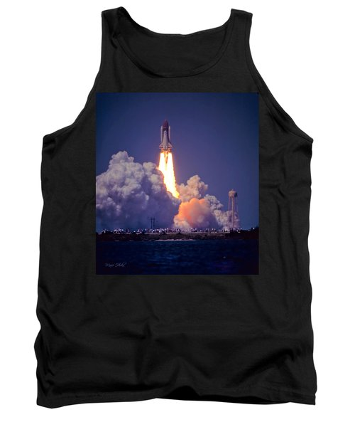 Space Shuttle Challenger Sts-6 First Flight 1983 Photo 1  Tank Top