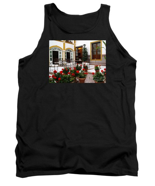 Tank Top featuring the photograph Spain by Haleh Mahbod