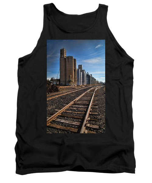 Spangle Grain Elevator Color Tank Top