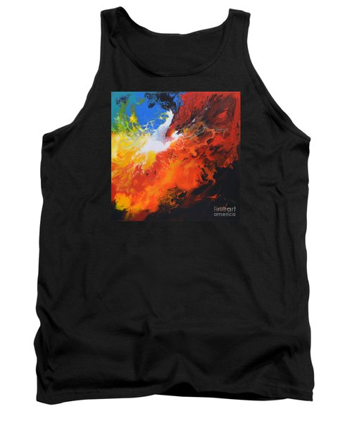 Spark Of Life Canvas Three Tank Top