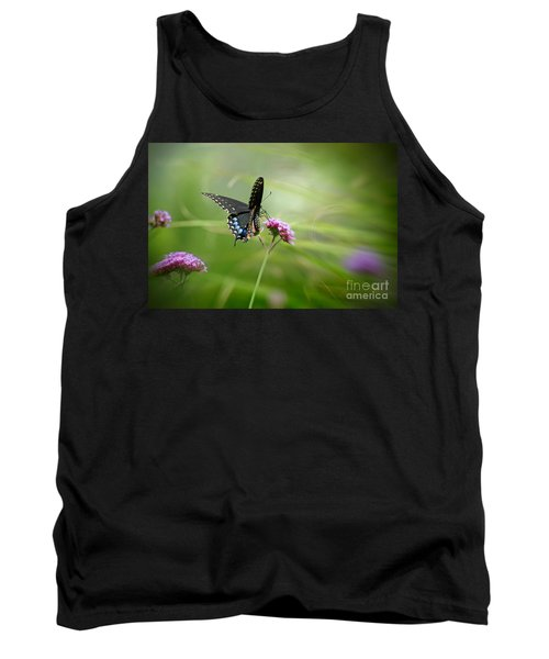 Spicebush Swallowtail Butterfly Tank Top