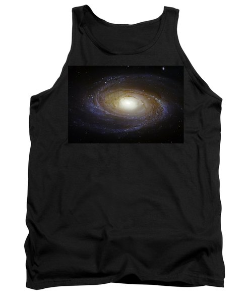Spiral Galaxy M81 Tank Top by Jennifer Rondinelli Reilly - Fine Art Photography