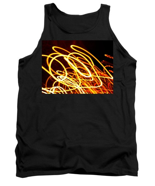 Spiral Light Among Dwellers About The City 2 Tank Top