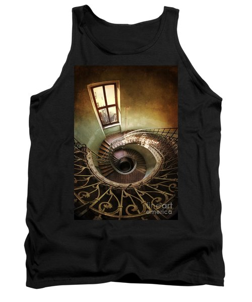 Spiral Staircaise With A Window Tank Top