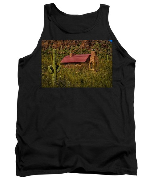 Tank Top featuring the photograph Spiritual Oasis by Mark Myhaver