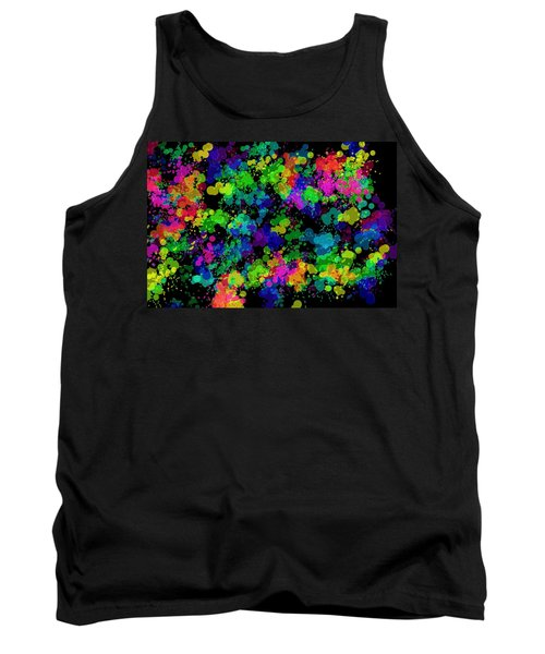 Tank Top featuring the photograph Splatter by Mark Blauhoefer